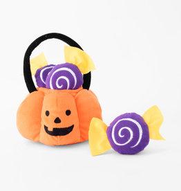 ZippyPaws ZippyPaws Halloween Burrow - Trick or Treat Basket