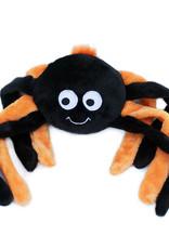 ZippyPaws ZippyPaws Halloween Grunterz Spider Orange