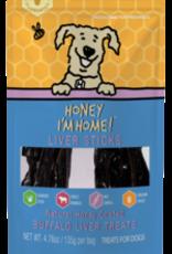Honey I'm Home Honey I'm Home Buffalo Liver Sticks 4.76oz