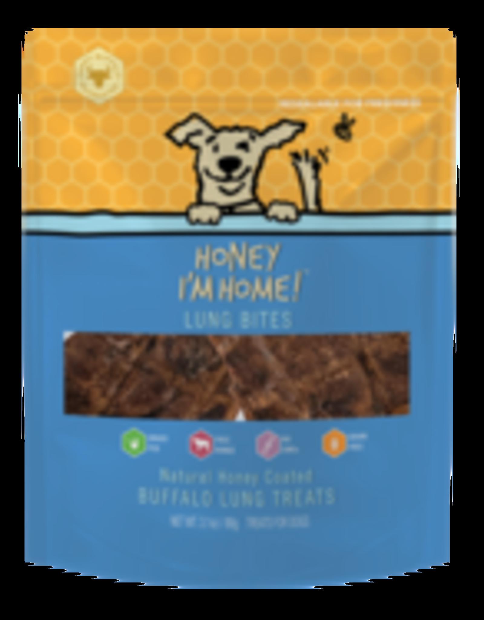 Honey I'm Home Honey I'm Home Buffalo Lung Bites 3.1oz