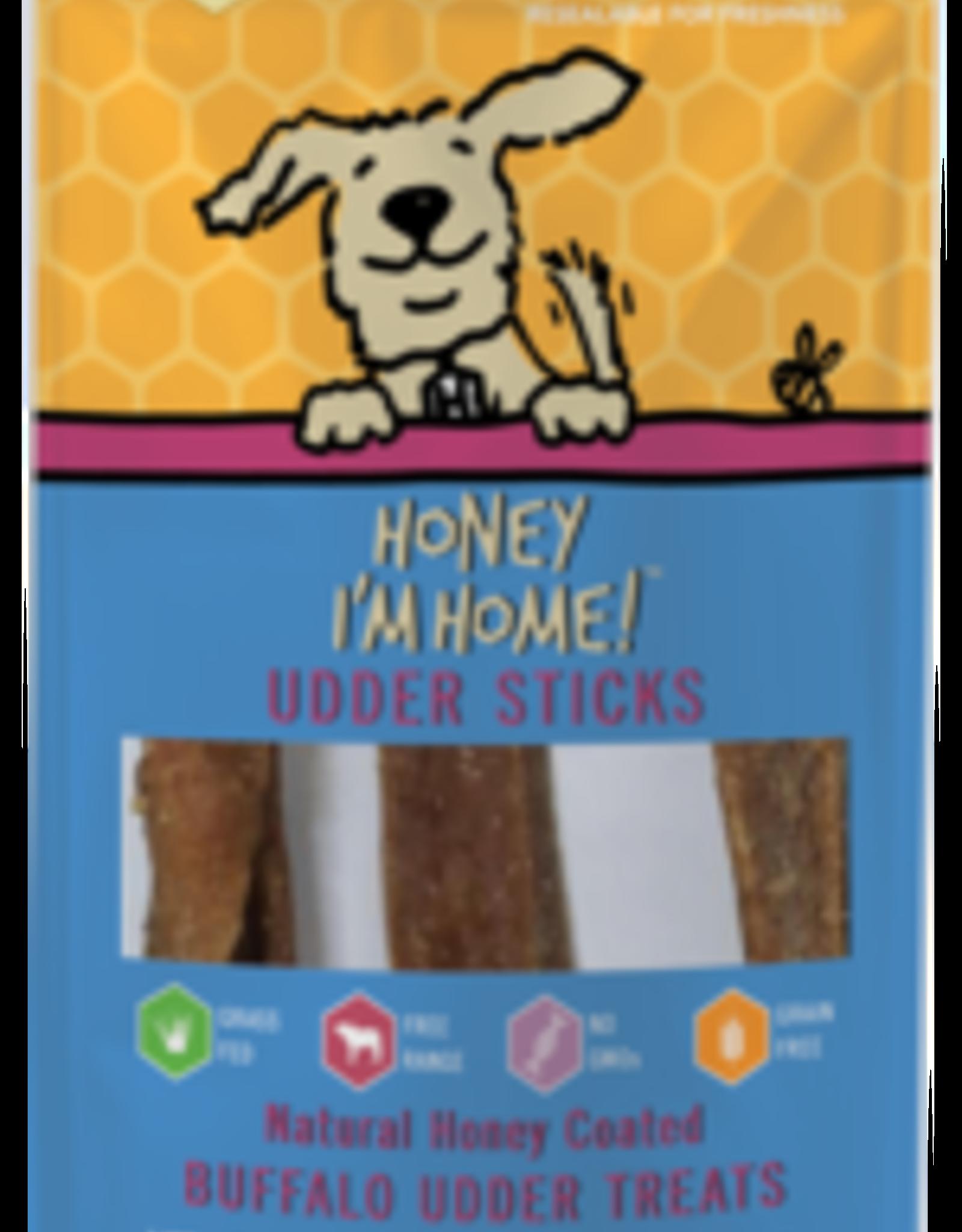 Honey I'm Home Honey I'm Home Buffalo Udder Sticks 4oz