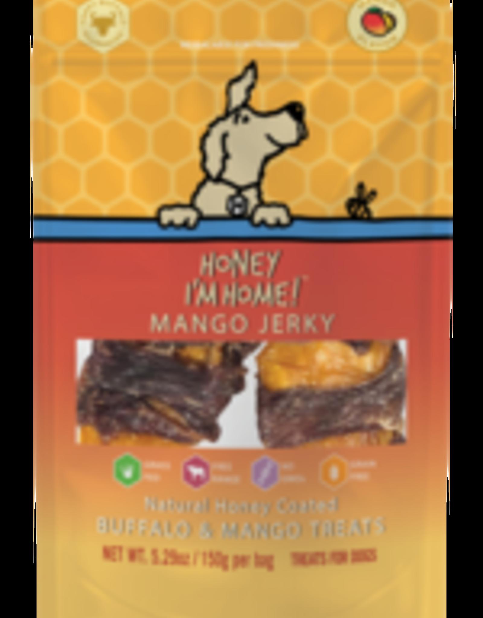 Honey I'm Home Honey I'm Home Buffalo Mango Jerky 5.29oz