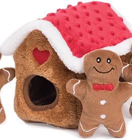 ZippyPaws Zippy Paws Holiday Burrow Gingerbread House