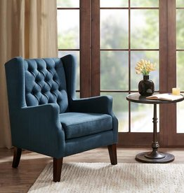 Maxwell Button Tufted Wing Chair