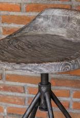 Kairu Wooden Bar Stool