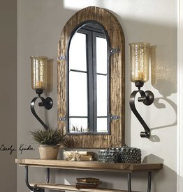 Joselyn Bronze Wall Sconce