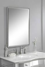 Sherise Brushed Nickel Mirror