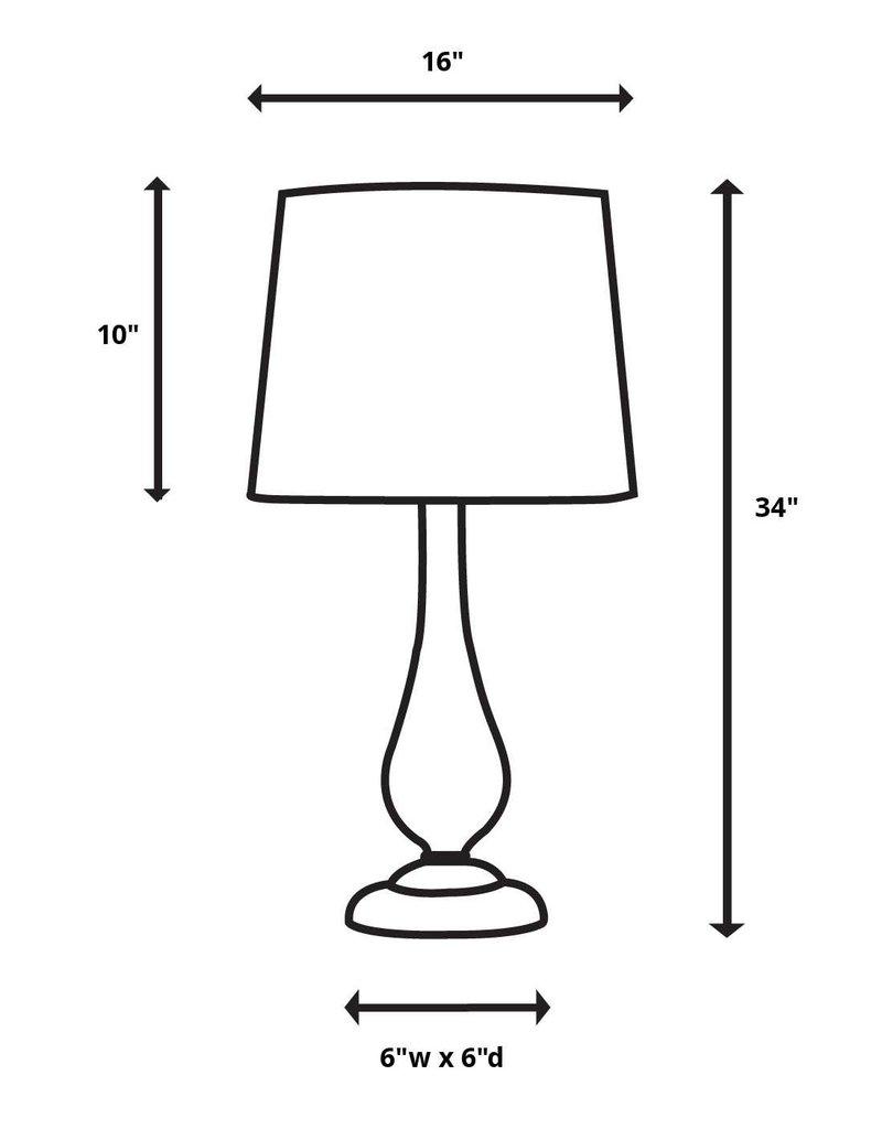 Montoro Dark Pecan Lamp