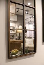 Amiel Arched Brown Mirror