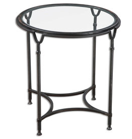 Samson Glass Side Table