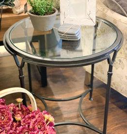 Samson Glass Side Table