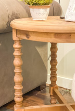 Clarence Wooden End Table