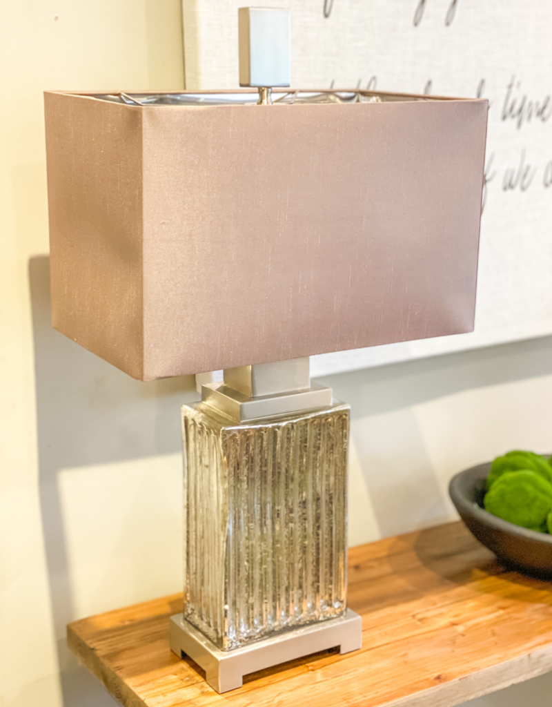 Antione Mercury Glass Table Lamp