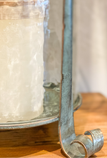 Nicia Bronze Candleholder