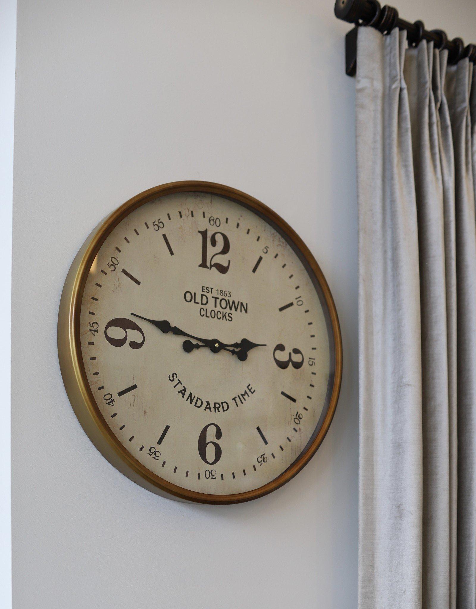 Lawrence Station Clock
