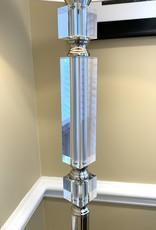 Volusia Nickel Floor Lamp