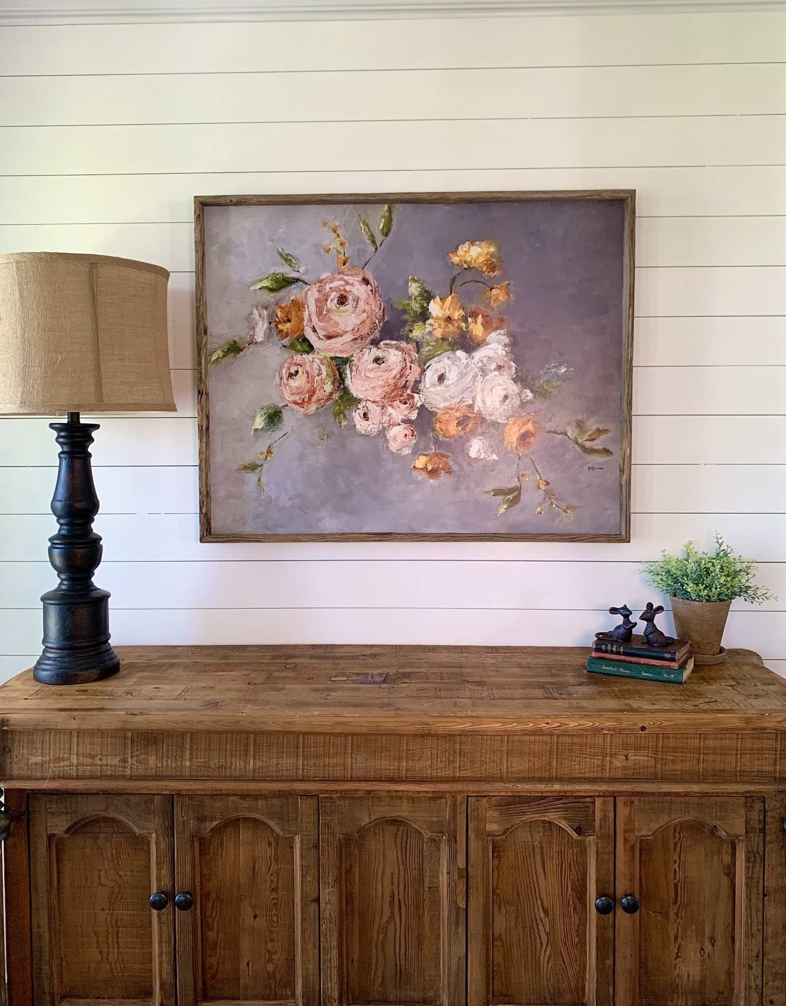 Diana Floral Shadow Box