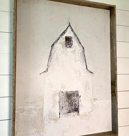 Shadow Box  White Barn Large