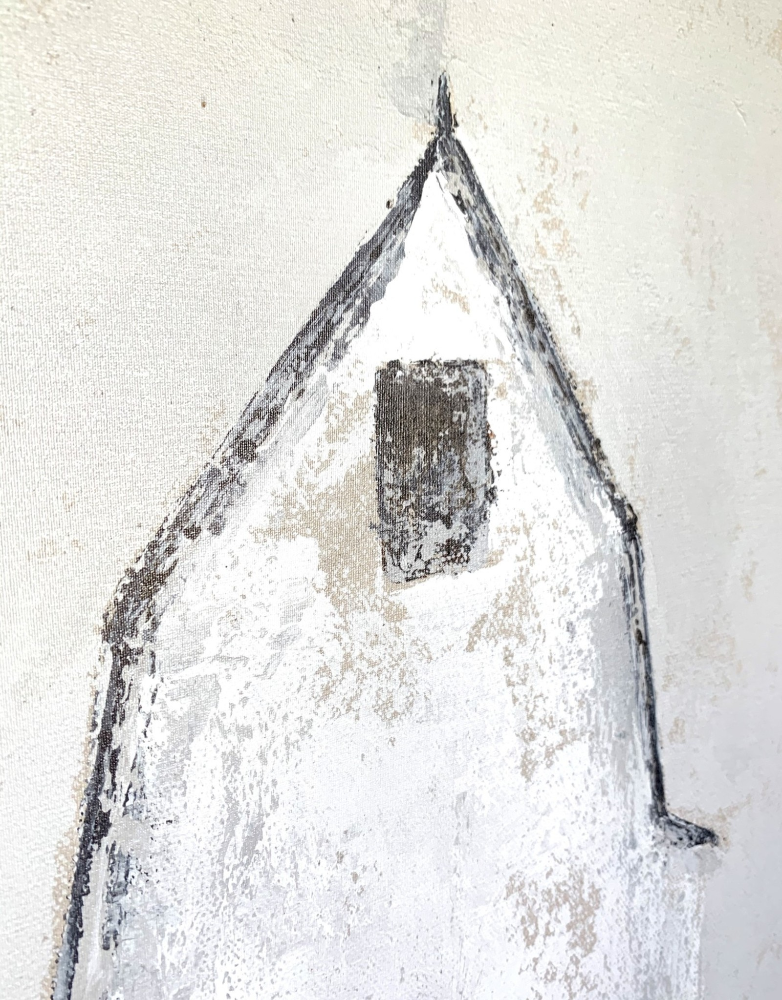 "24""x32"" Shadow Box - White Barn"