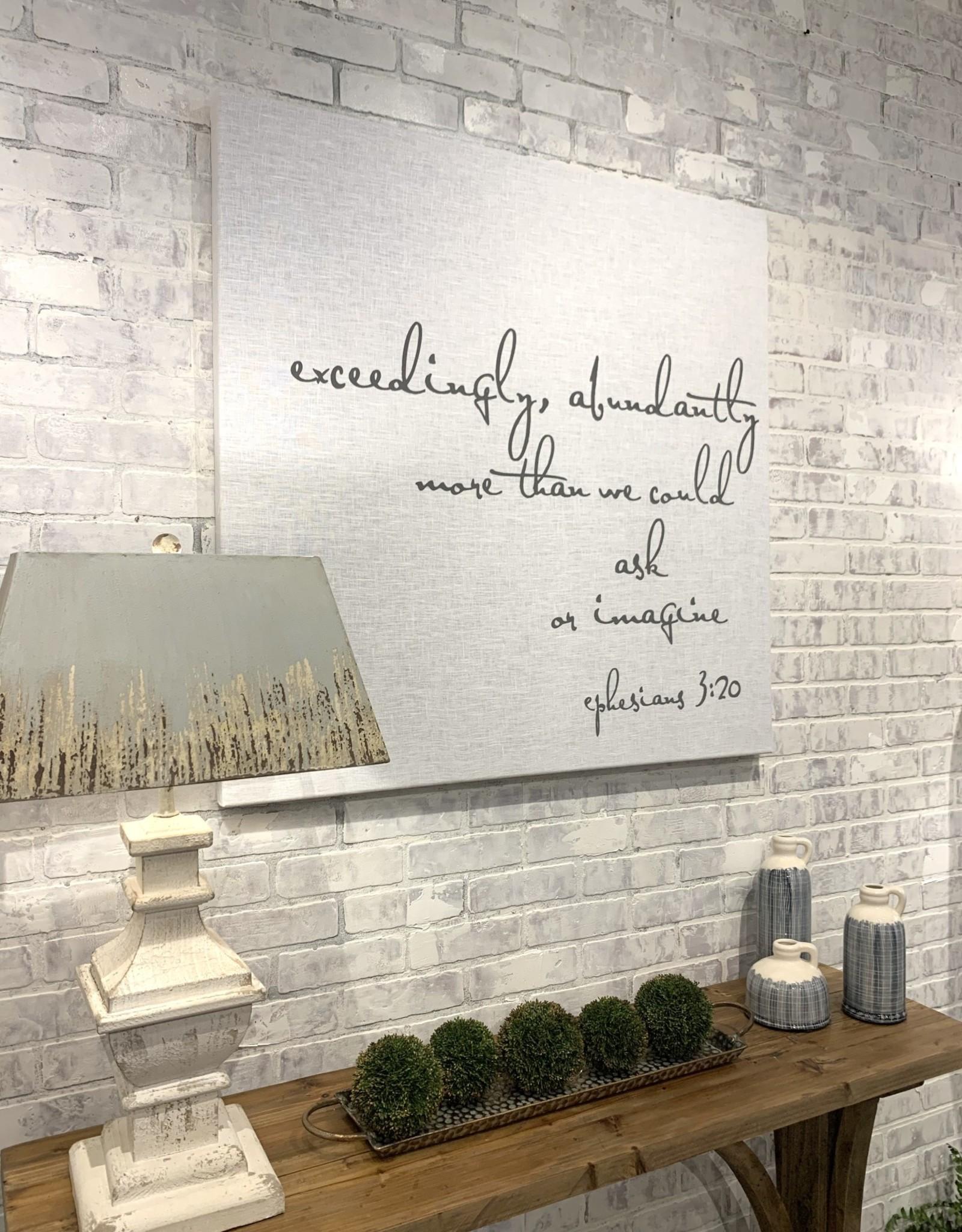 White Linen Art Panels