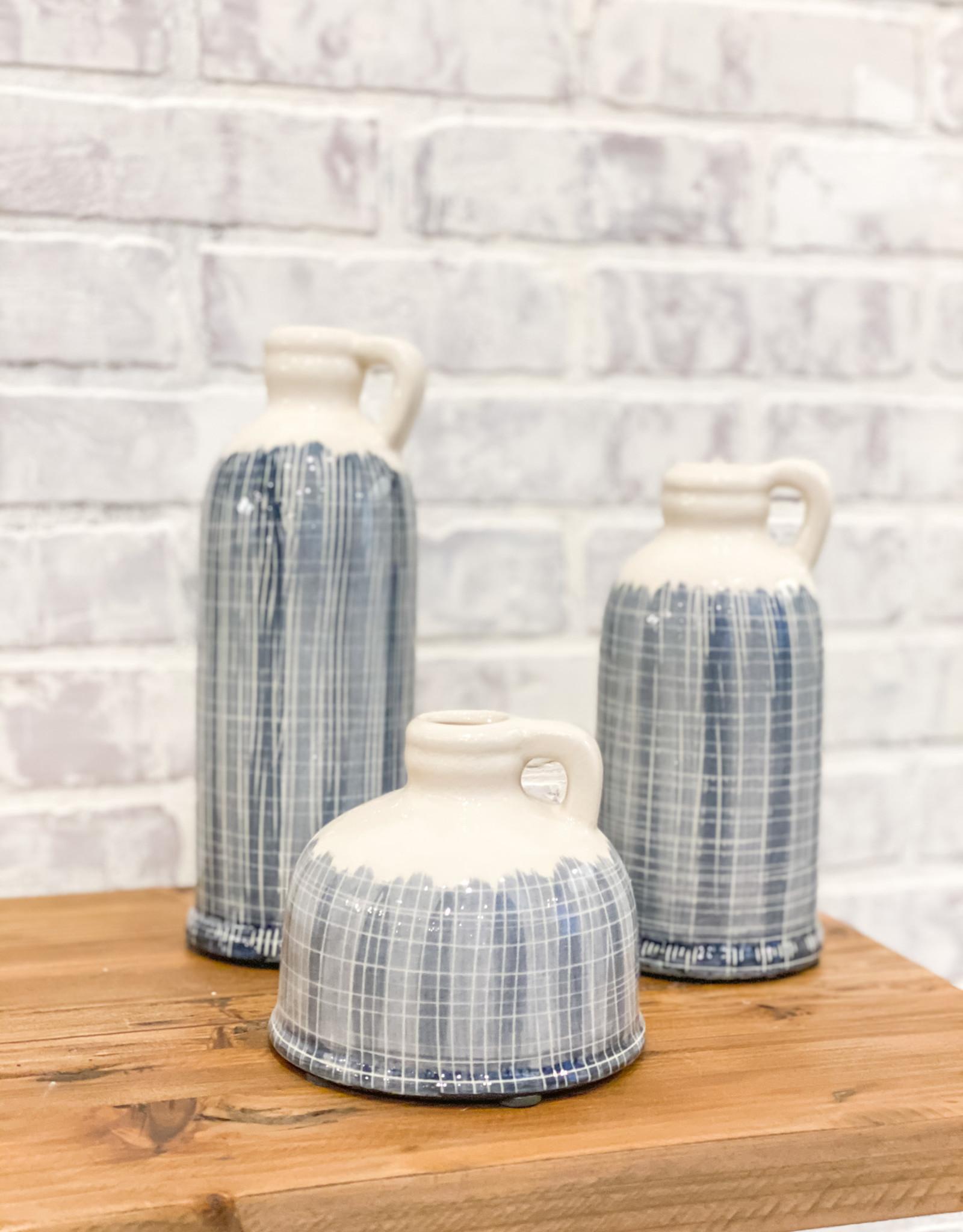 Coastal Terracotta Jugs (Set of 3)