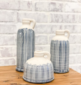 Coastal Terracotta Jugs (Set of 3)