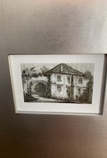 Historical Buildings Framed Art Set/4
