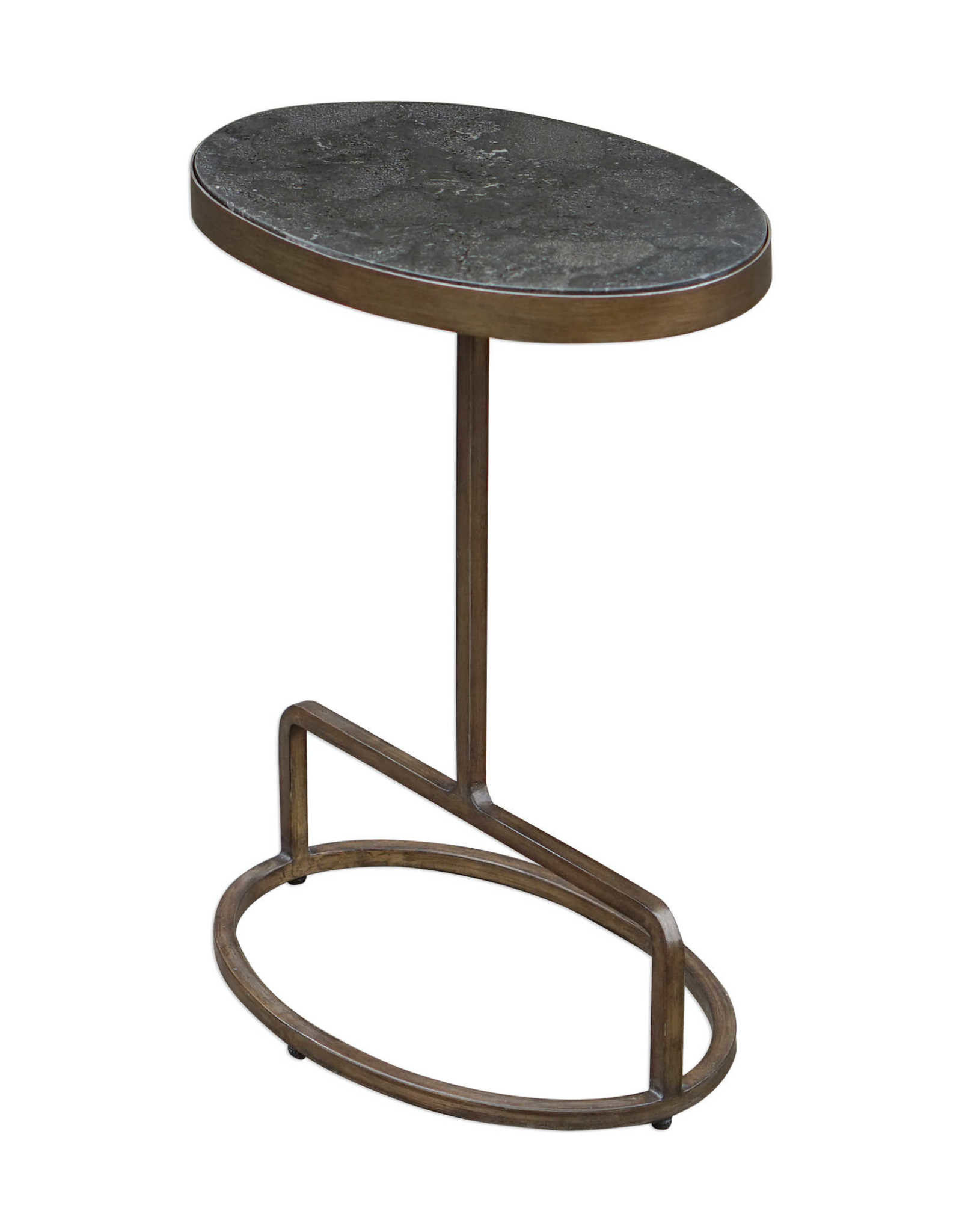 Jessenia Stone Accent Table