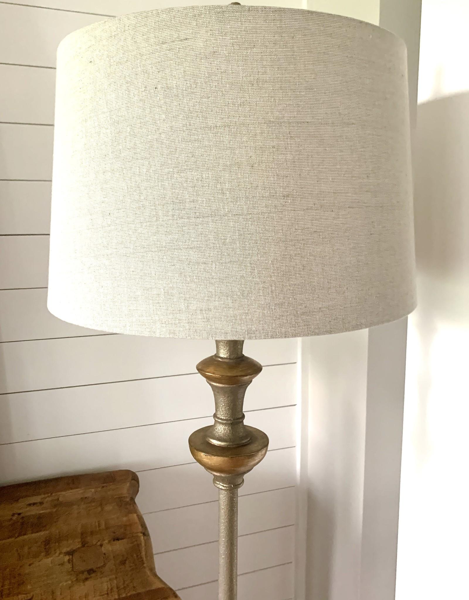 Vetralla Silver Bronze Floor Lamp