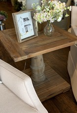 Stratford Pedestal End Table