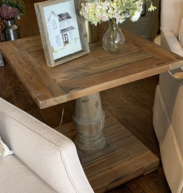 Winchester Pedestal End Table