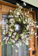 """Daisy & Twig 23"""" Wreath"""