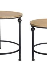 Wood & Metal Nesting Tables