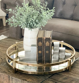 Valerio Silver Bookends - Set of 2