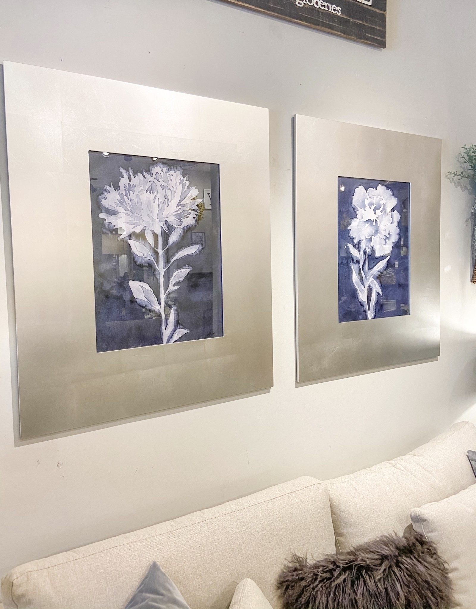 Dream Leaves Floral Prints - Set of 2