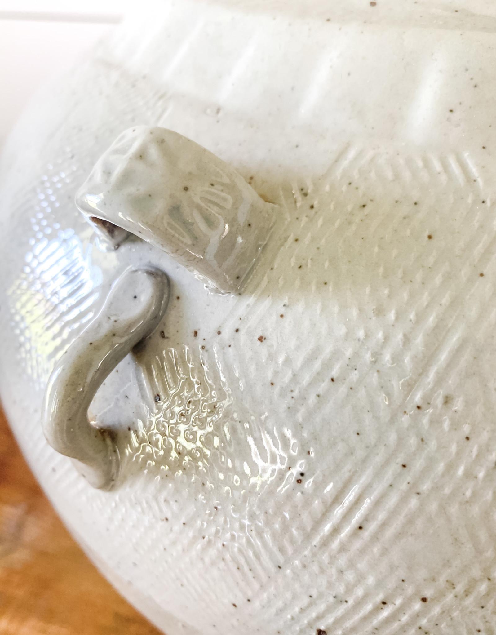Creative Co-Op Vintage Stoneware Vase