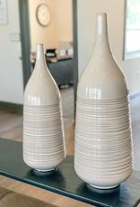Large Ringed Vase