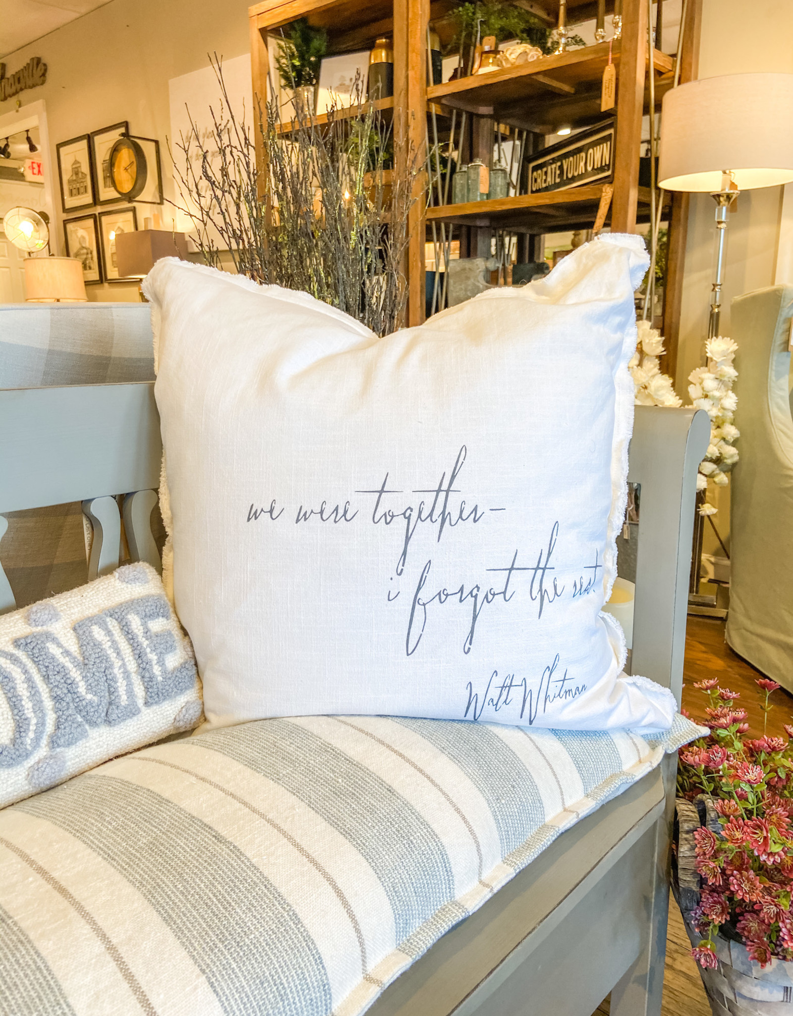 """""""We Were Together"""" Pillow"""