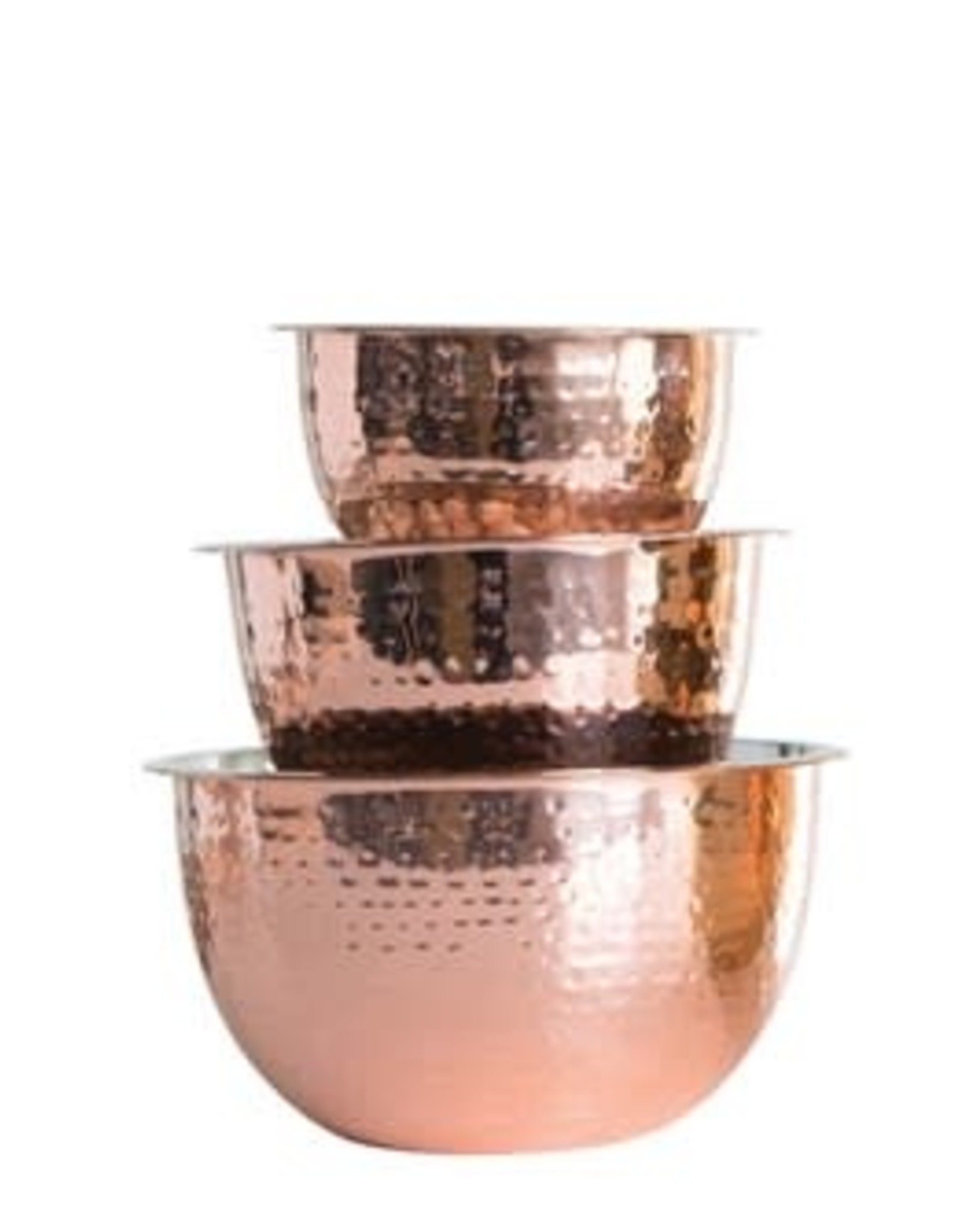 Hammered Copper Bowls  (Set of 3)