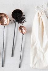 Copper Ladles (Set of 4)
