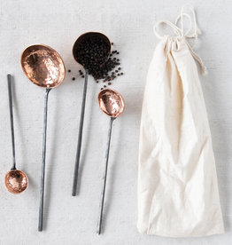Copper Ladles (Set of 4)