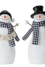 Resin Snowman (Set of 4)