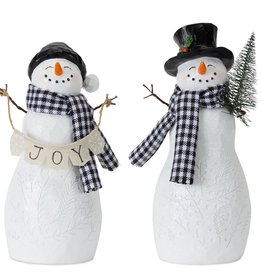 Resin Snowman (Set of 4)