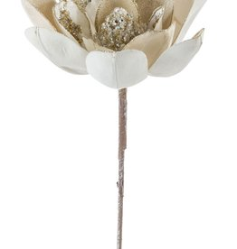 Velvet Magnolia Stem (Set of 6)