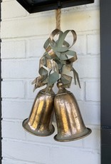 Gold Bells Ornament