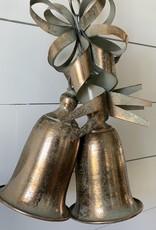 Gold Bells Ornament