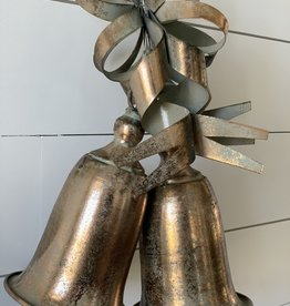 Gold Bells Ornament (Set of 2)