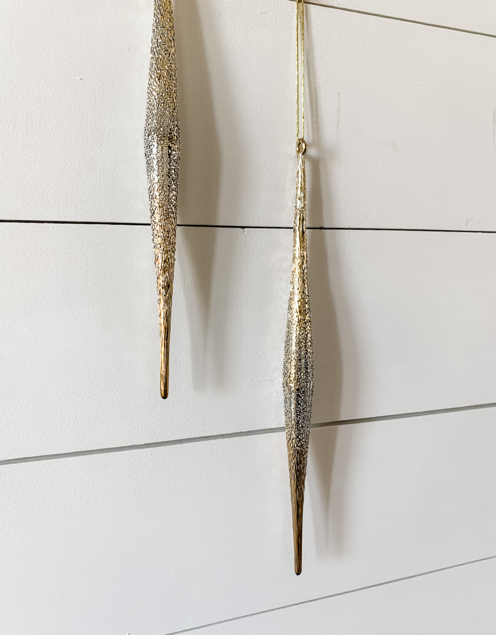 Glass Icicles (Set of 6)