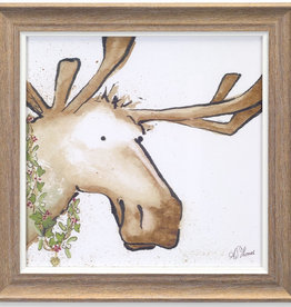 Moose and Deer Print