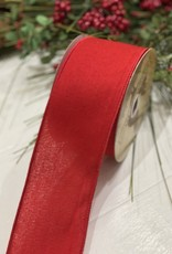 Red Flannel Ribbon